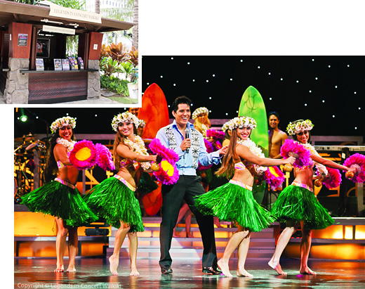 レジェンド・イン・コンサート・ワイキキ・ロイヤル・ハワイアン・シアター・チケット窓口 Legends in Concert Waikiki Royal HawaiianTheater Box Office