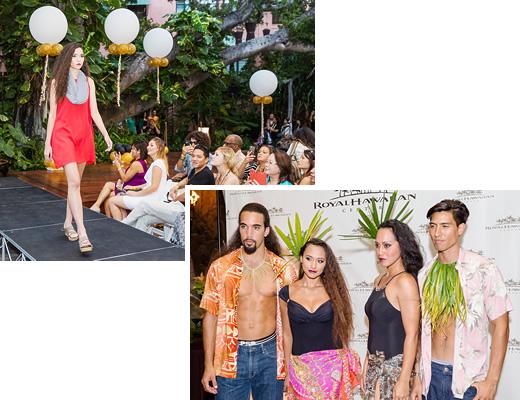 ハワイ・ファッション・マンスを祝うロイヤル・デザイナー・ウォーク開催
