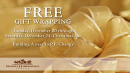 クリスマスも休まず営業&無料ギフトラッピング実施中