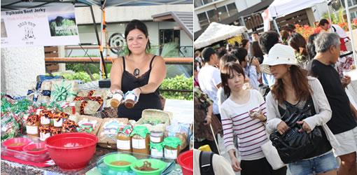 ハワイのおいしいが大集合のファーマーズマーケット