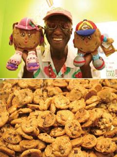 ウォーリーさんとクッキー