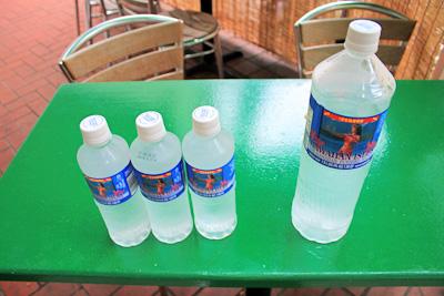 ボトルのお水