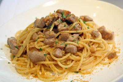 ぺペロンチーノ風スパゲティ