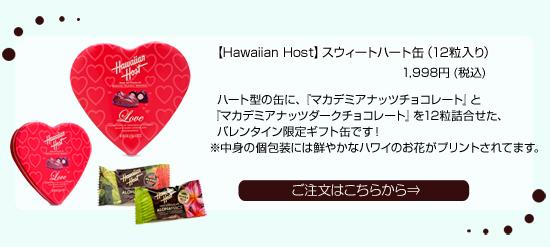 ハート缶 バレンタインチョコレート