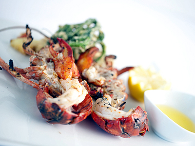 Grilled Maine Lobster with Fried Island Vegetable.jpg