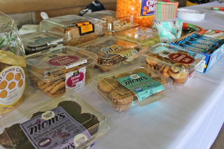 アメリカのお菓子もたくさん用意されていました