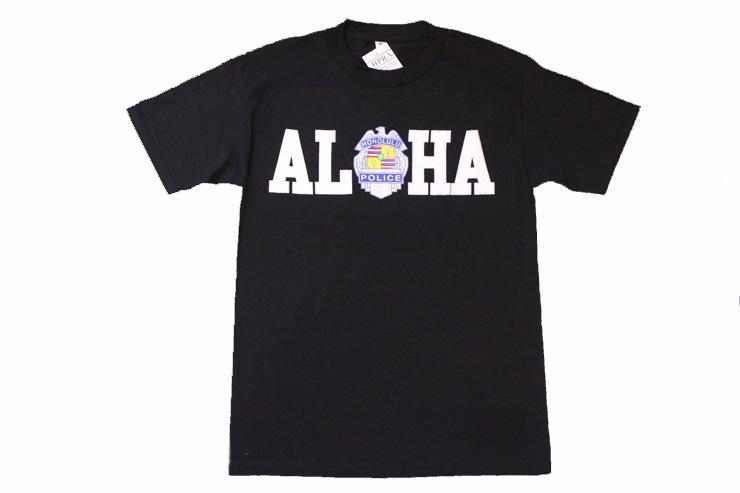 大人気のALOHA Tシャツ($18)。