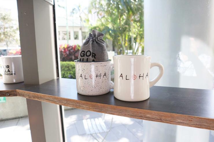 ゴリラ・イン・ザ・カフェのマグカップ