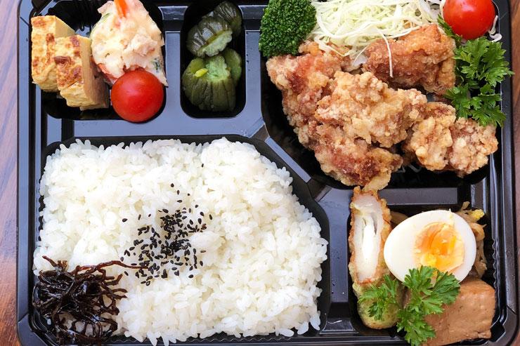 鶏唐揚げ弁当 $11.75