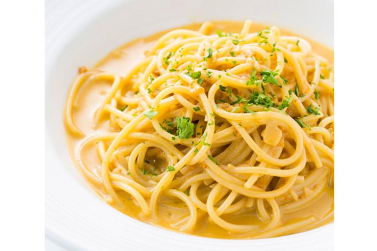 シチリア名物、生うにの贅沢なスパゲッティ