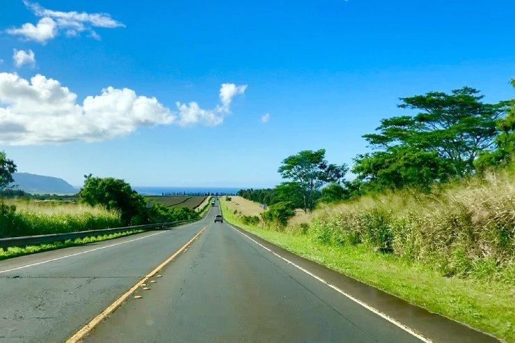 メレを旅するハワイ〜ハレイワへドライブ