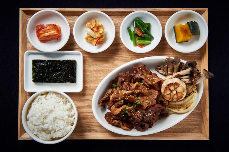 ソウル豆腐ハウスのBBQ定食