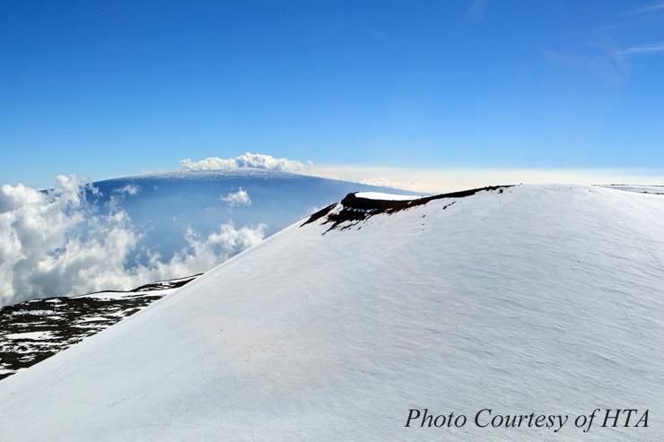 ハワイ島の山々の神話・伝説