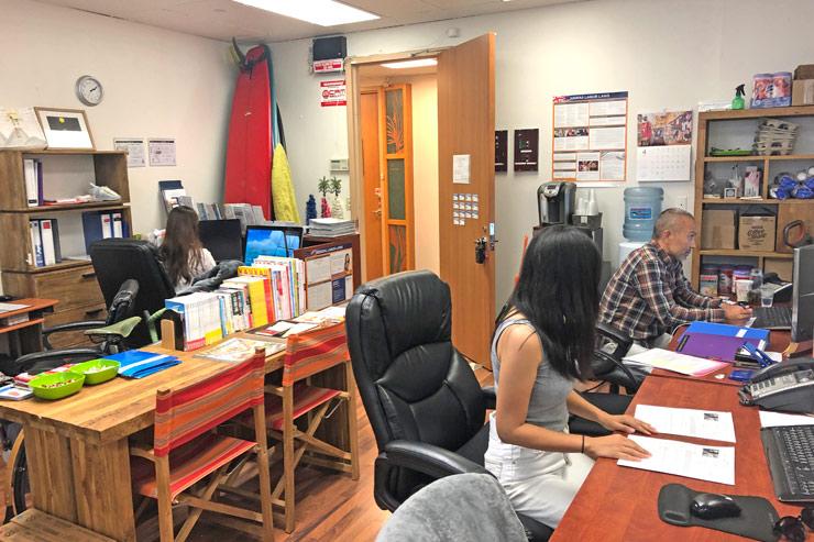 レイハワイ不動産のオフィス