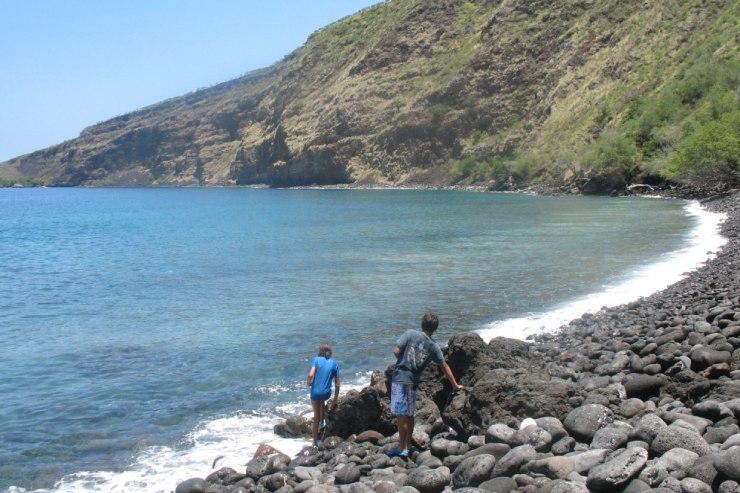 世界に知られる衝撃事件の舞台、ハワイ島ケアラケクア湾