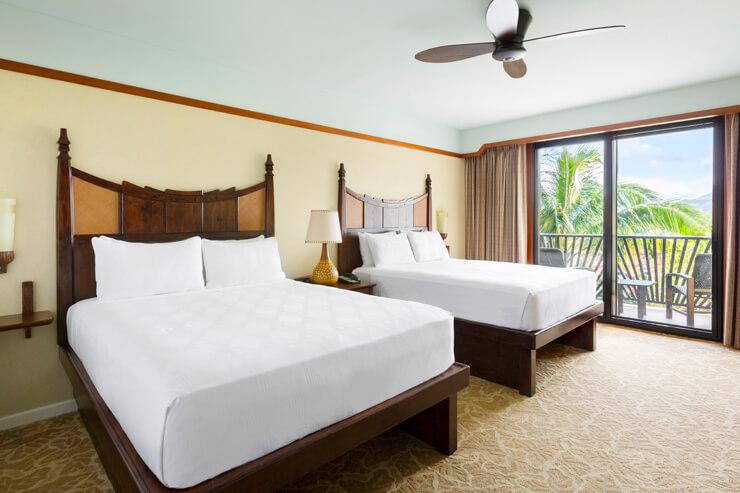 ディズニーとハワイの伝統が融合した客室