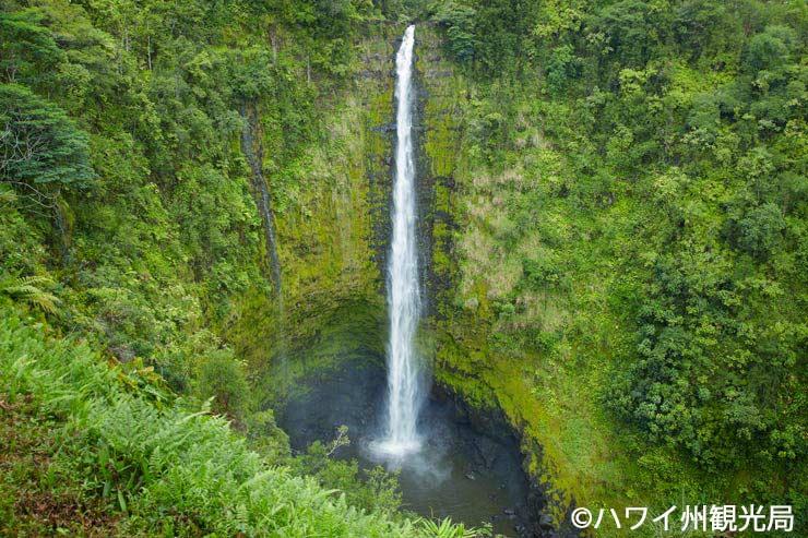 ハワイ島ヒロの滝&川の伝説