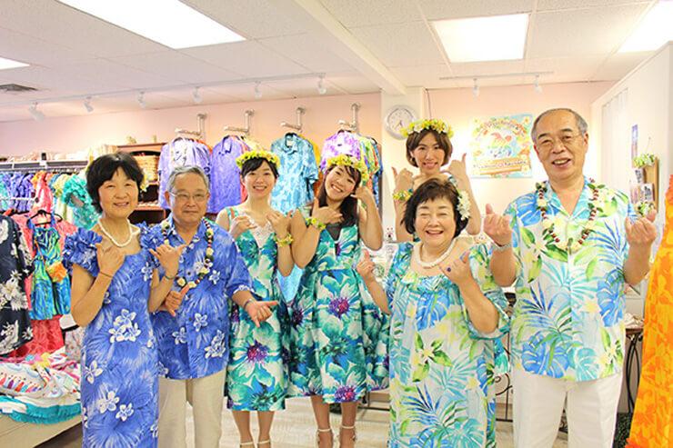 ムームーレインボー/リディアハワイ レンタル衣装でハワイ挙式