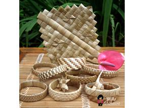ハワイ式ラウハラ編みに夢中!