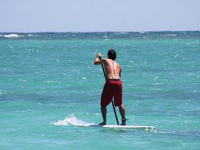 ハワイはスタンドアップ・パドルが熱い!!