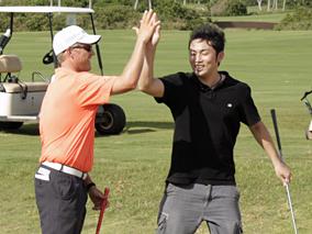 ハワイで憧れのゴルフデビュー!後編