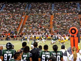 ハワイ大学のスポーツを観戦しよう!