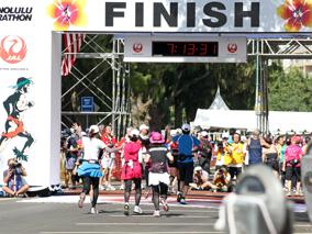 2011年JALホノルルマラソン結果発表!