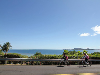 ハワイで満喫!サイクリング・イベント '12