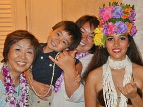 一気にハワイ気分上昇!ハワイ式宴会