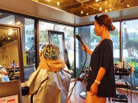日本の美容室の技術とスタイルをハワイで