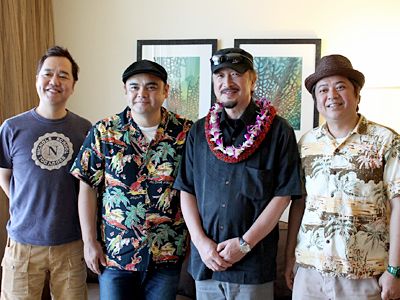 BEGINがハワイに!ウクレレピクニック開催