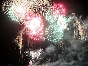 パレード&長岡花火で盛り上がった日曜日