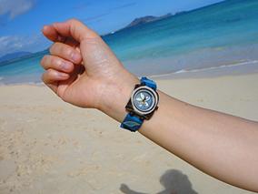 ハワイが香るエコな腕時計Laniにうっとり