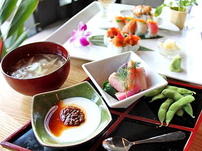 新感覚!オーガニック寿司和食をコオリナで