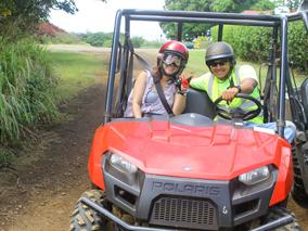 ハワイ島の秘境を四輪バギーで駆け抜ける!