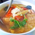 魅惑の透明スープ!カイムキのトムヤムクン