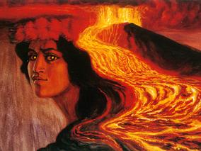 大地に神の力が宿る!火山にまつわる神話