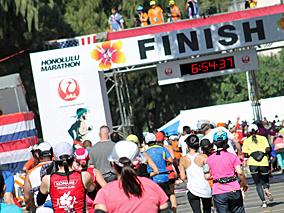 暑かった!ホノルルマラソン2013レポート