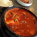 やっぱり美味しい!ピリ辛熱々の豆腐チゲ