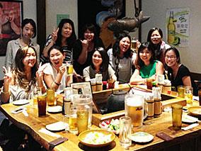 編集部女子が大阪ナイトで大盛り上がりの巻