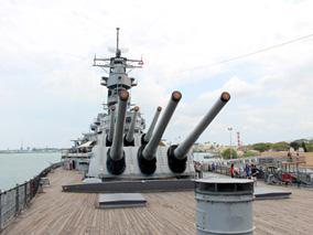 本物の戦艦を探検しながら歴史を学ぼう!