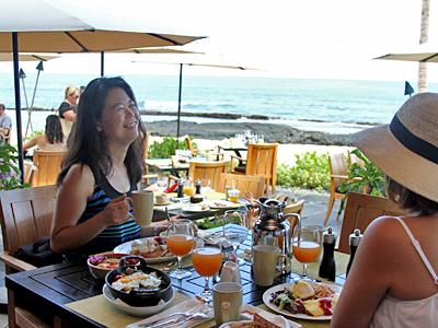 憧れのフォーシーズンズで海を眺めて朝食を【フォーシーズンズ・リゾート・フアラライ】