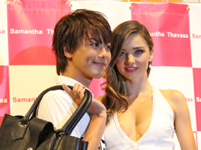 TAKAHIRO&ミランダの恋するバッグに夢中