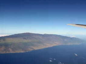 JALホノルル線60周年の記念遊覧飛行で感激