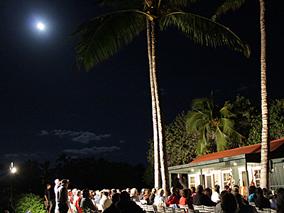 ハワイ島マウナ ラニの特別な月夜イベント【マウナ ラニ ベイ ホテル&バンガローズ】