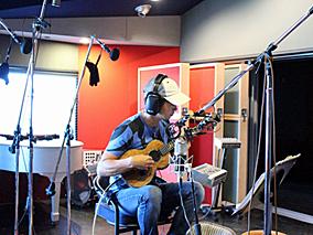 ジェイクのレコーディングスタジオに初潜入