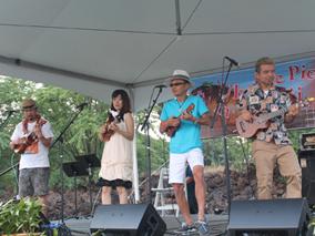 大盛況!ハワイ島でのウクレレ・ピクニック