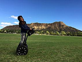 未来のスクーター「セグウェイ」で軽快散歩【セグウェイ・オブ・ハワイ】