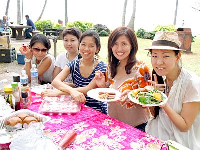 ビーチ・バーベキューでロコ流ハワイを楽しもう!【ファイン・ハワイ】