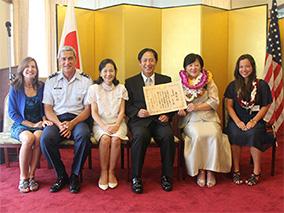 人類学者・林敦子さんの在外公館長表彰式
